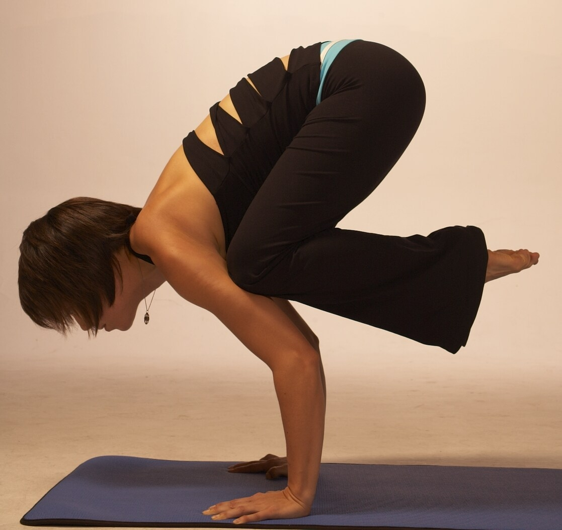 Yoga Pose Of The Day Kak Asana Crow Posture And Bak Crane